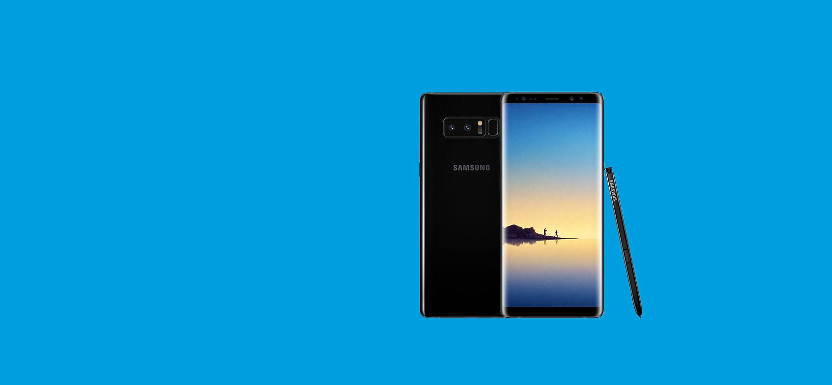 Afbeelding aanbieding [Super Deal Samsung Galaxy Note 8 64 GB]
